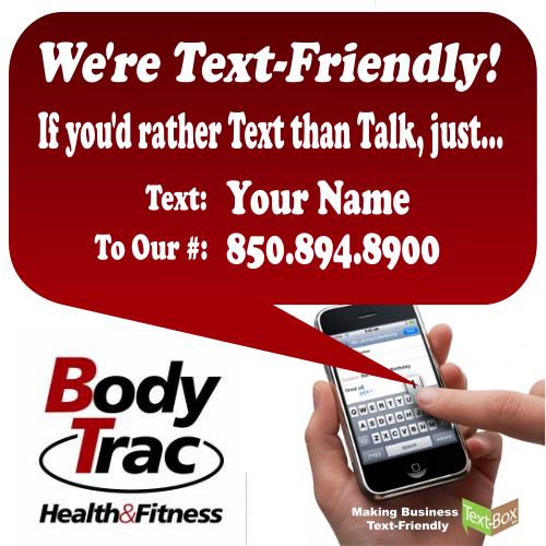 BodyTrac Customers Can Text Their Business