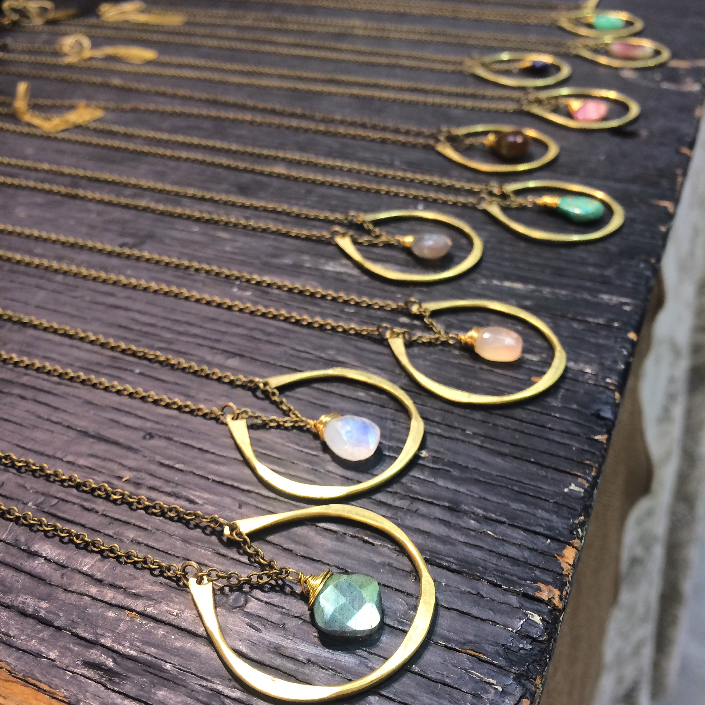 By Chance necklaces  - a popular hit at the Seattle Tradeshow.