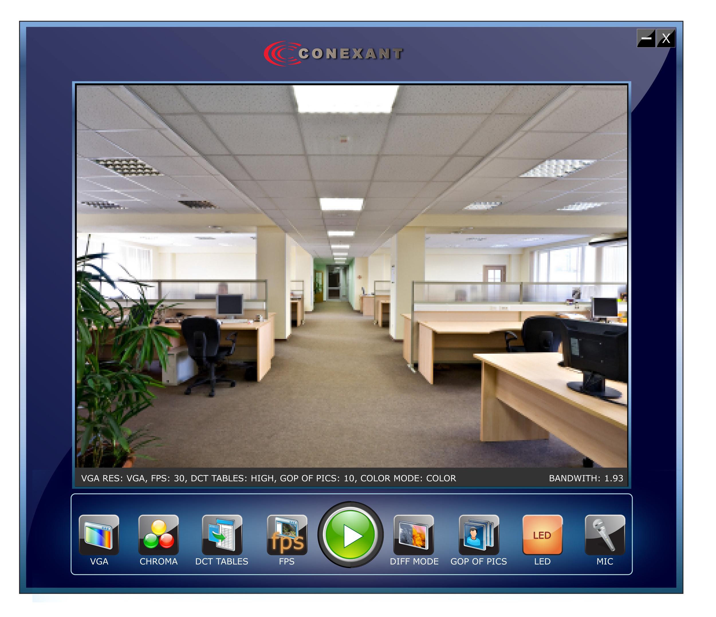 Reflector CCTV App for Conexant