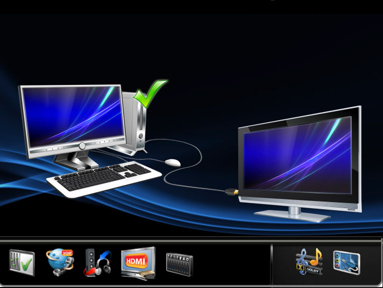 Smart Audio Application which is now in over 12 Millions systems worldwide, Design 100% by me.