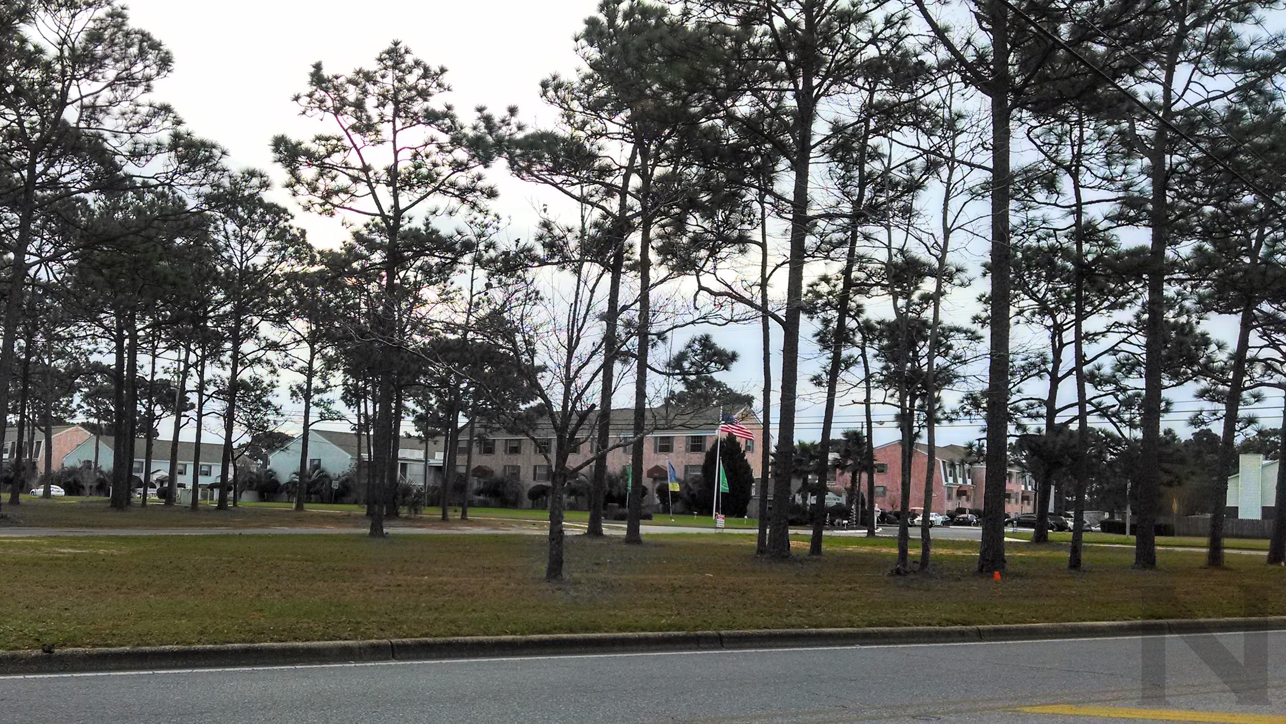 Spanish Trail and Summit Boulevard.