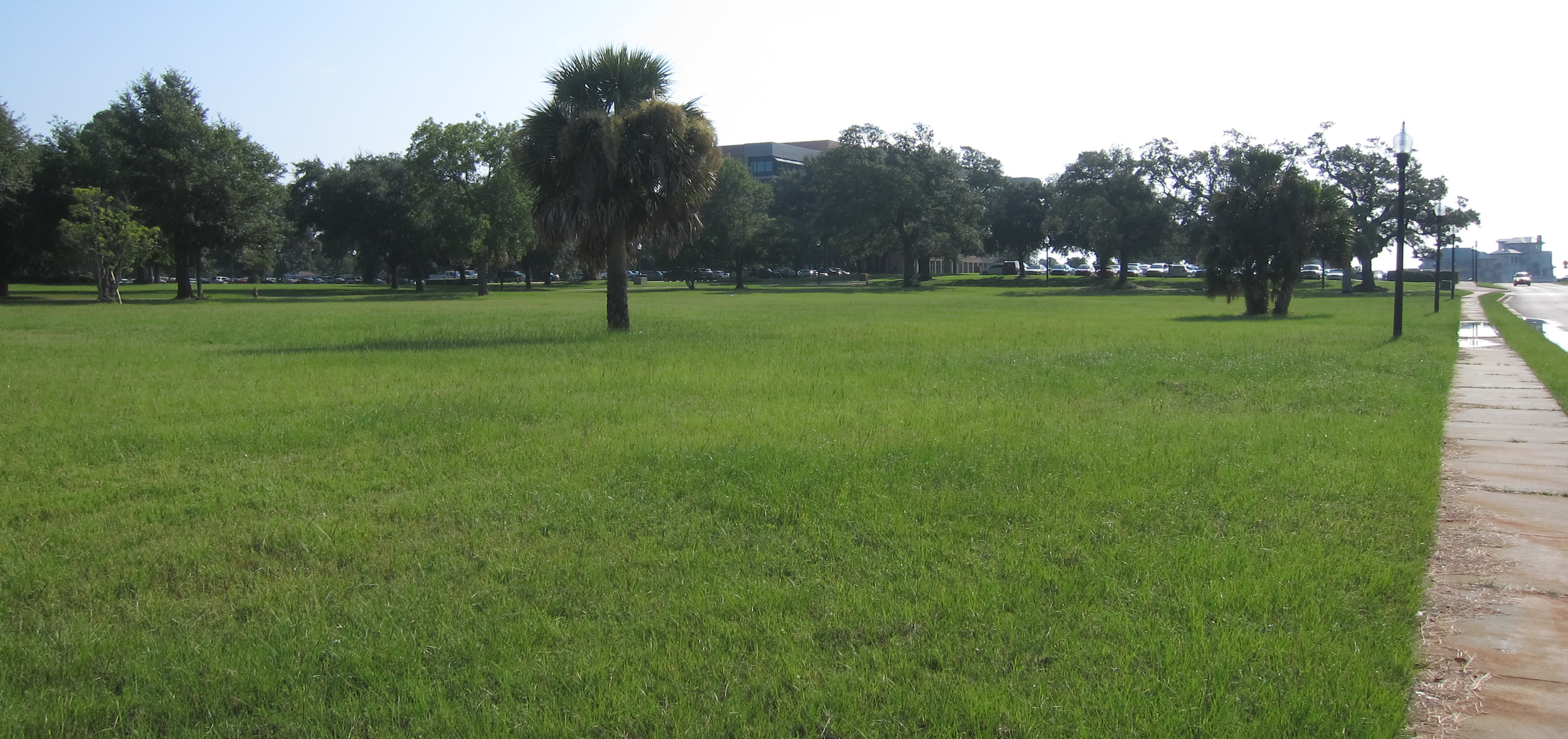 The Hawkshaw property as seen facing the Gulf Power building.