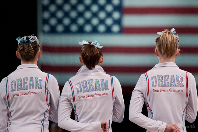 Industry Leader. We have more Elites training at Texas Dreams than any club in the US. Year after year, we keep our finger on the ever-changing pulse of gymnastics trends, techniques, and rules from the highest levels and below.