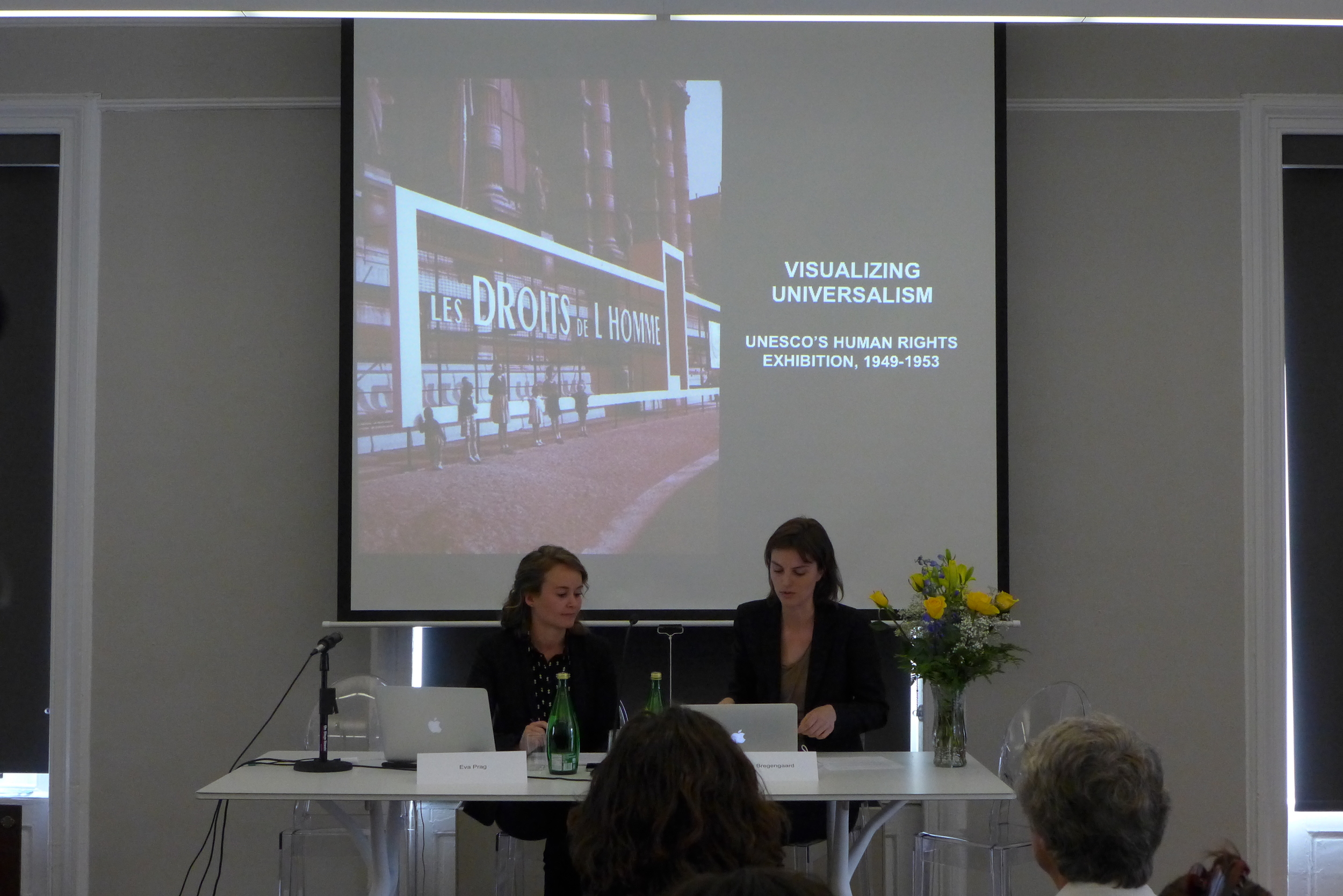 "Katrine Bregengaard & Eva Prag: ""Exhibition Presentation - Visualizing Universalism"""