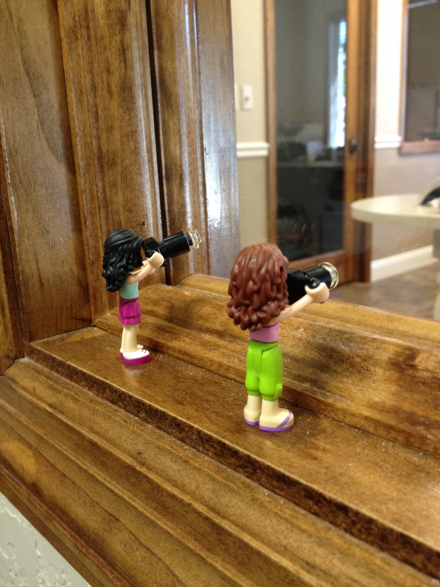 While Tammy and I are preparing for PSW Atlanta, our alter egos are busy capturing the action around the office today.