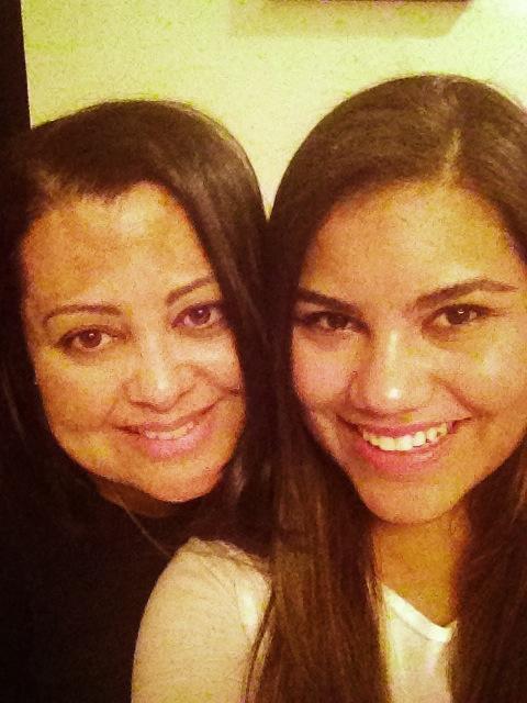 Mother & daughter iPhone #Nomakeupselfie