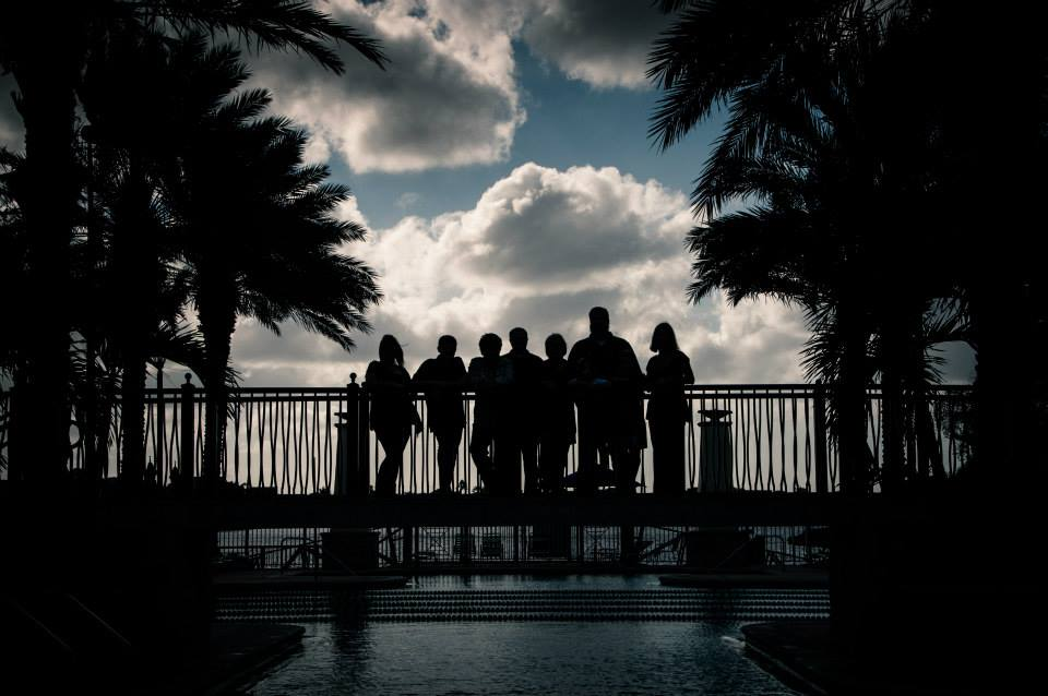 On of my favorite images shot this year. A silhouette of a family shot at my neighborhood club house. A place I have visited often but never thought to shoot.