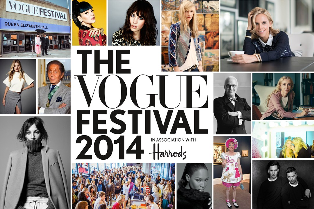 Vogue festival 2014 in association with Harrods