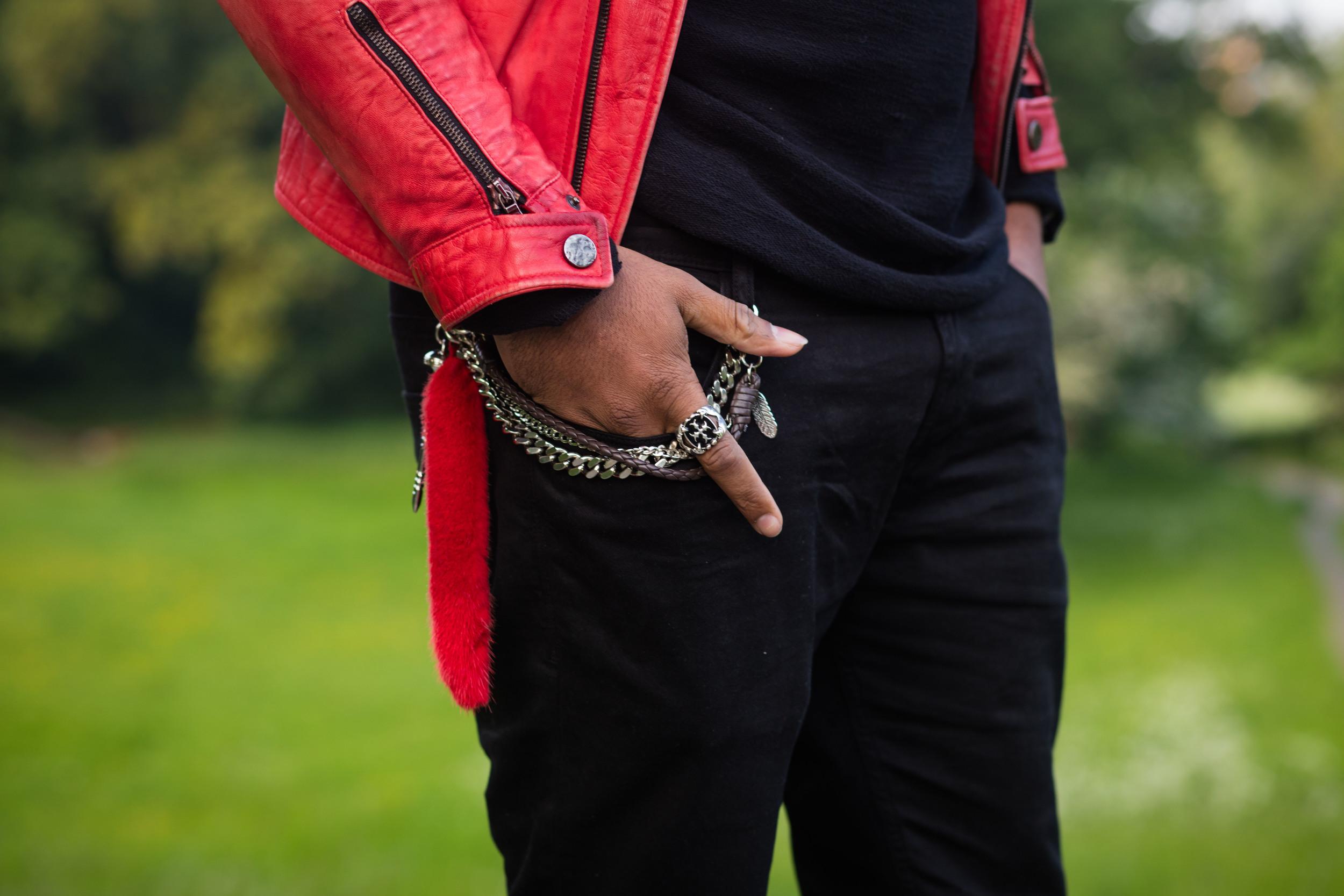 Leather red jacket, Topshop,Asos,dolce Red leather jacket, Sug Sean. Ukblogger