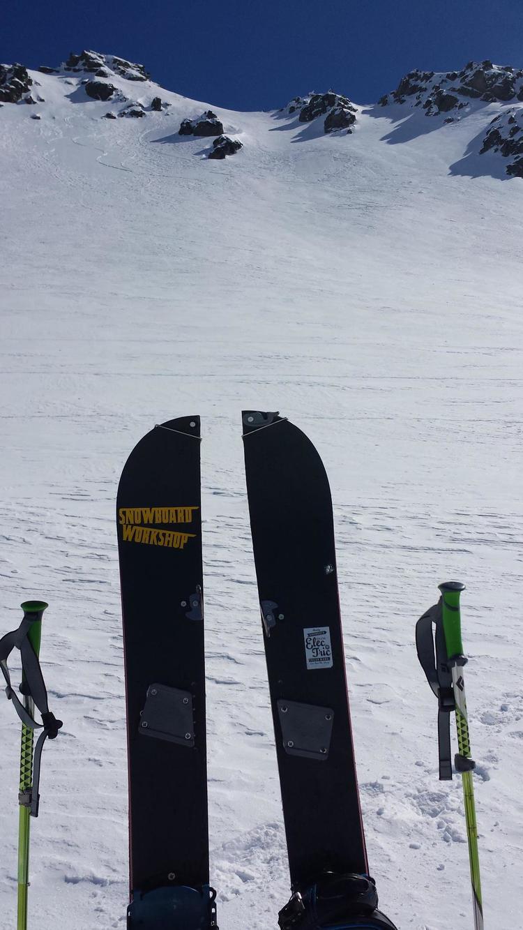 Split boards make a great way to acess fun terrain