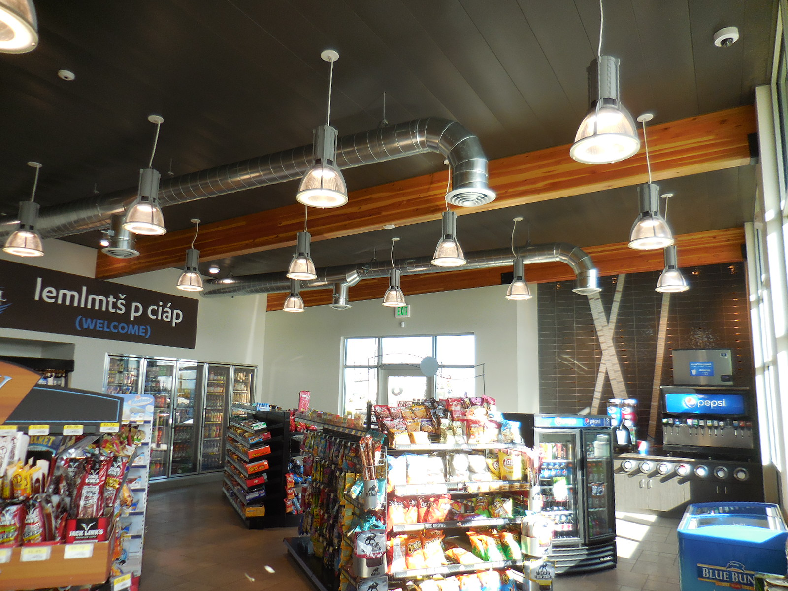 Convenience Store Design / Beams / Industrial / Merchandising