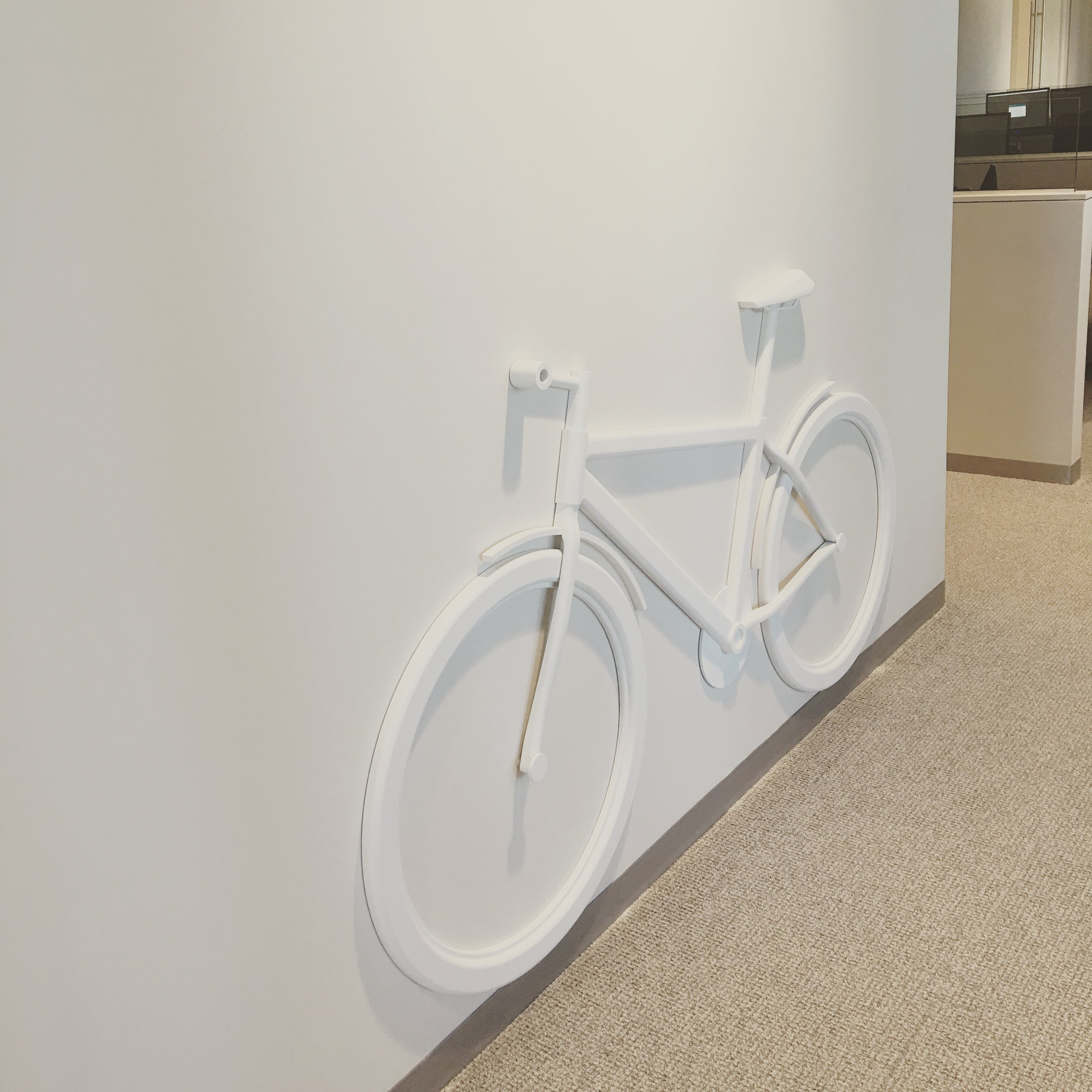 Custom Bike Sign