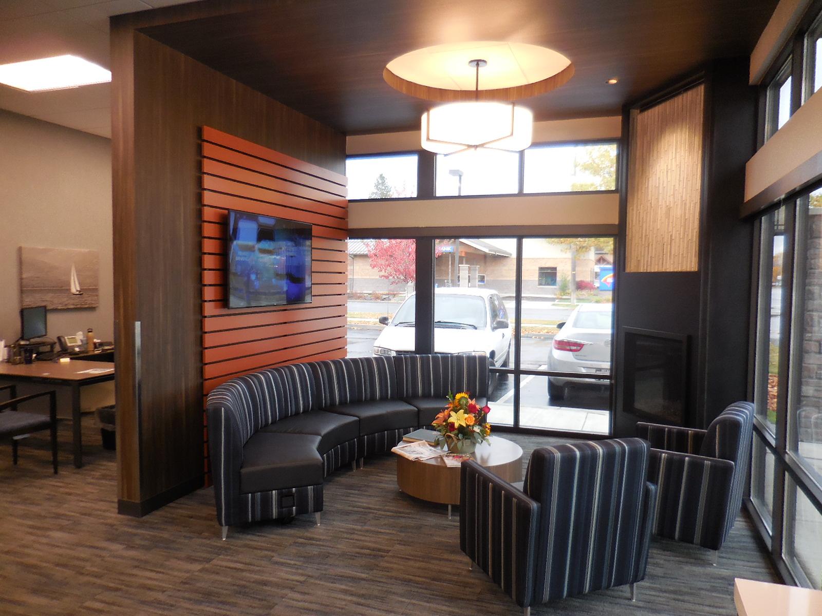 Lounge / Financial Design / Bank Design