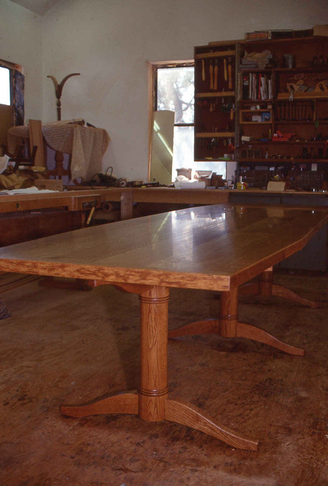 Quarter Sawn White Oak Conference Table