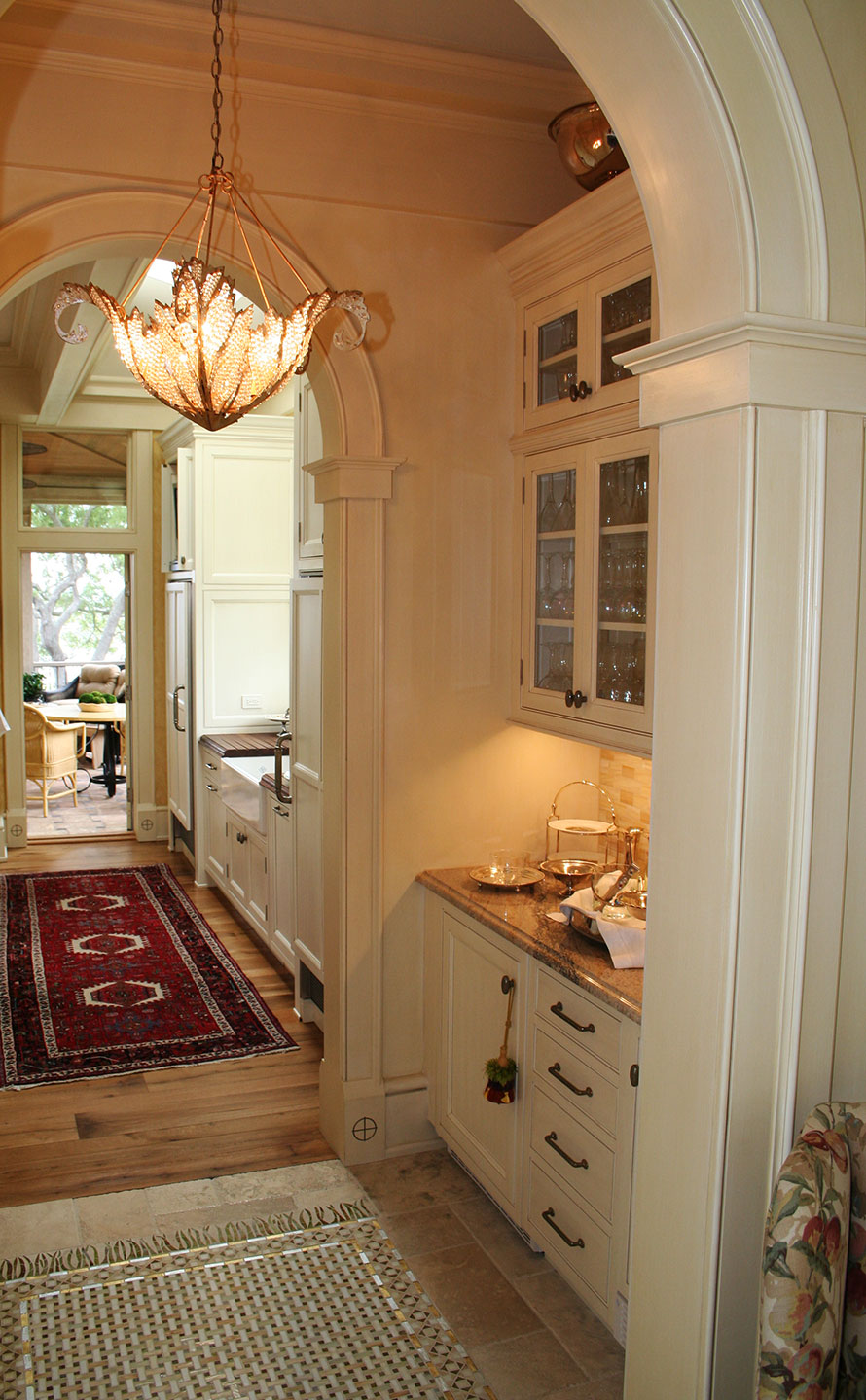 Archway & Cabinets