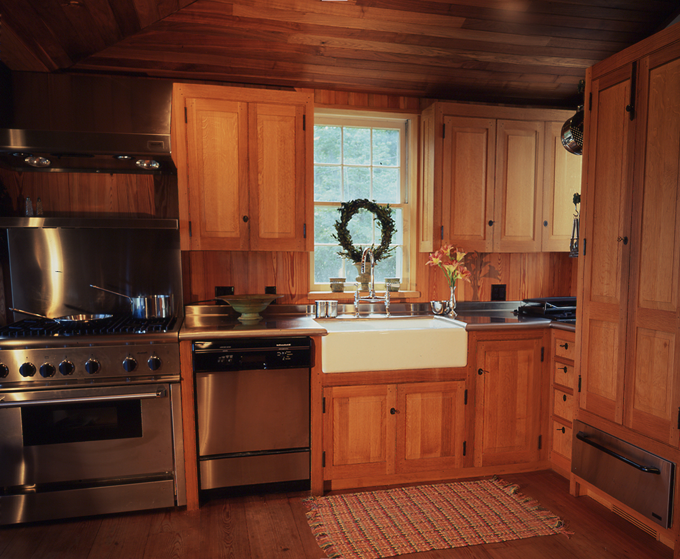 18th Century White Oak Kitchen