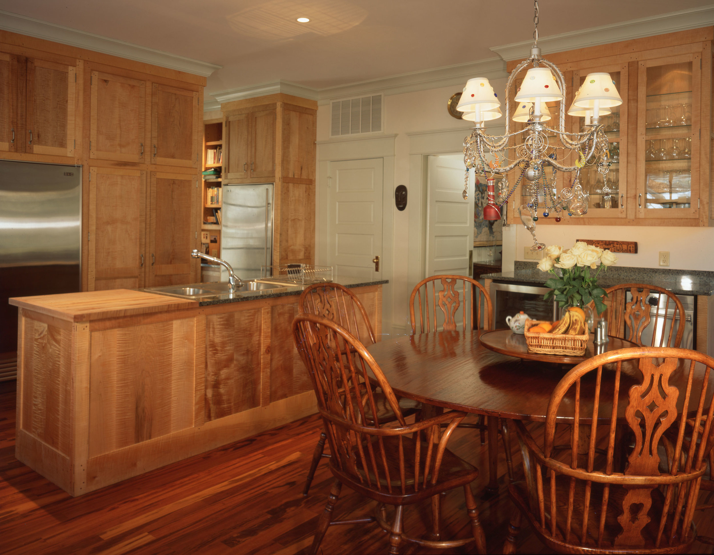 Figured Maple Kitchen