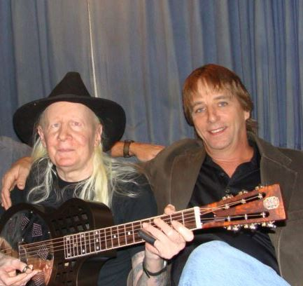 Frank and Johnny Winter