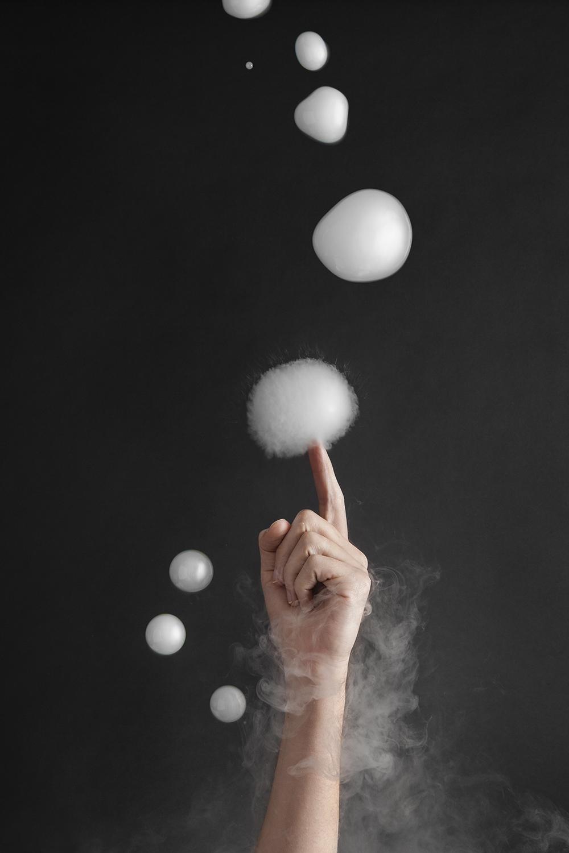 Dry Ice Bubbles
