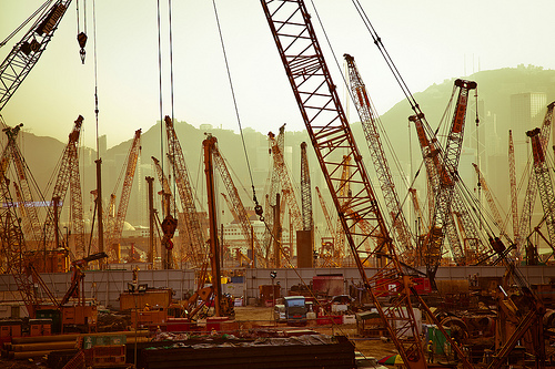 Construction Galore  , a photo by   Chung Ho Leung   on Flickr.