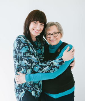Dr. Mary Claire Dilks and her mom, photo by Olivia Gird, click image for details