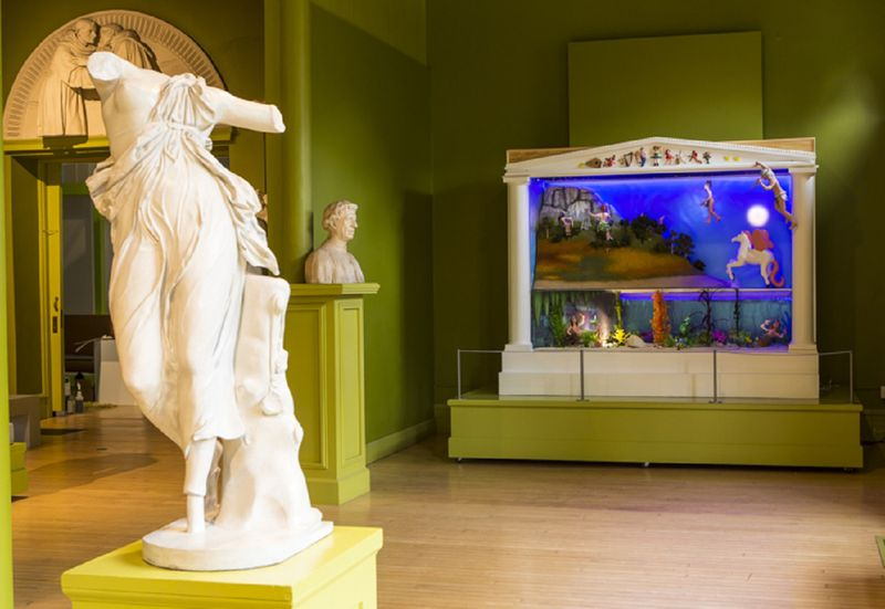 New Exhibit - Multisensory artwork at Springfield Museums geared toward kids on the spectrum