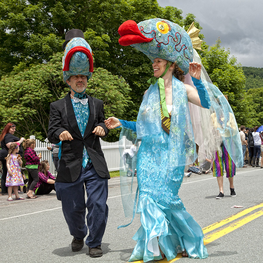 10th Annual Trout Parade, June 8, 2013.   Photo by Ted Pilonero.