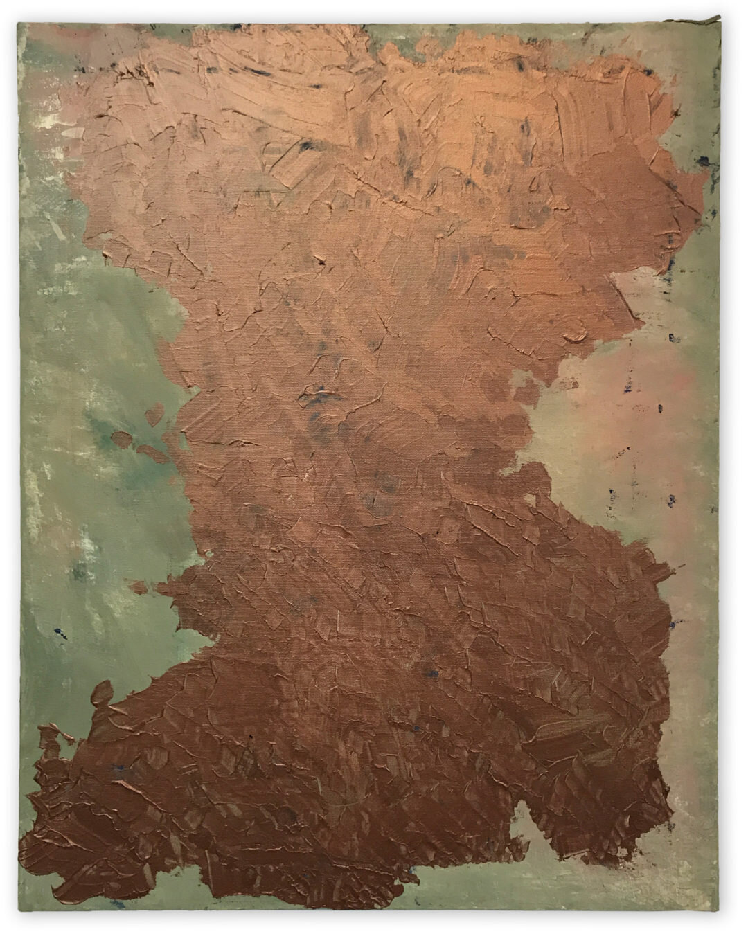 Rodney Harder,  Copper Shape,  2018.