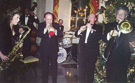 Ed performing at the White House