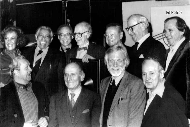 Benny Goodman and Ed Polcer with others
