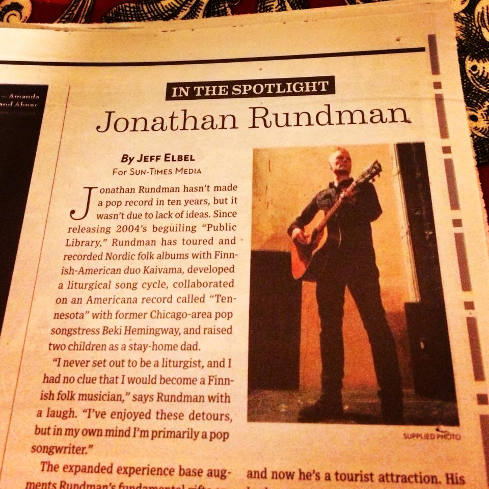 Check out these interviews in the   Chicago Sun-Times   and   The Mining Journal   in anticipation of the new album's release!