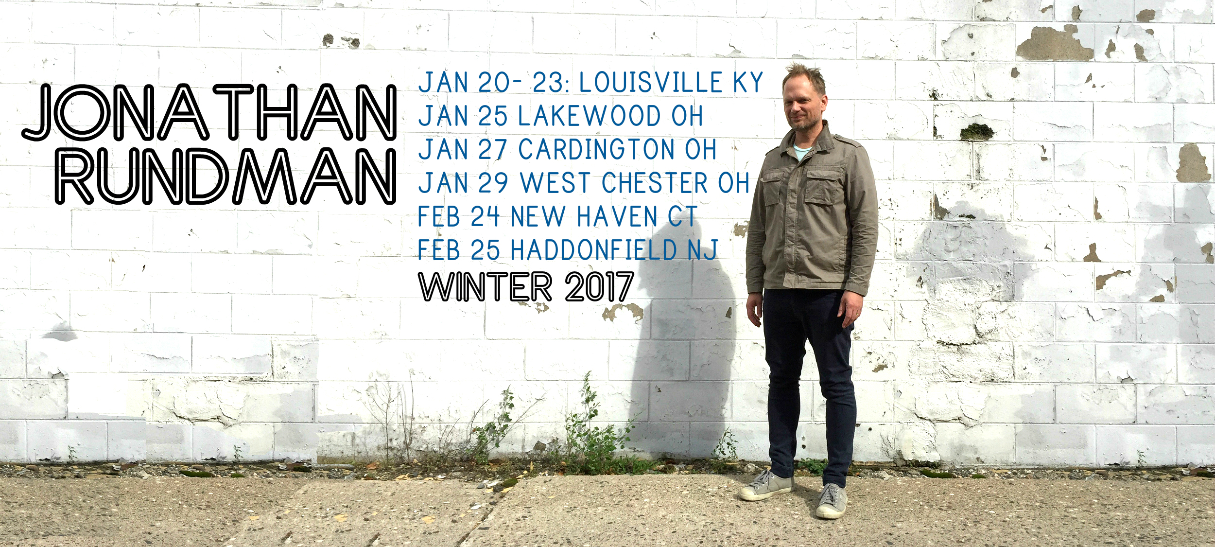 Come see me on tour this Winter!