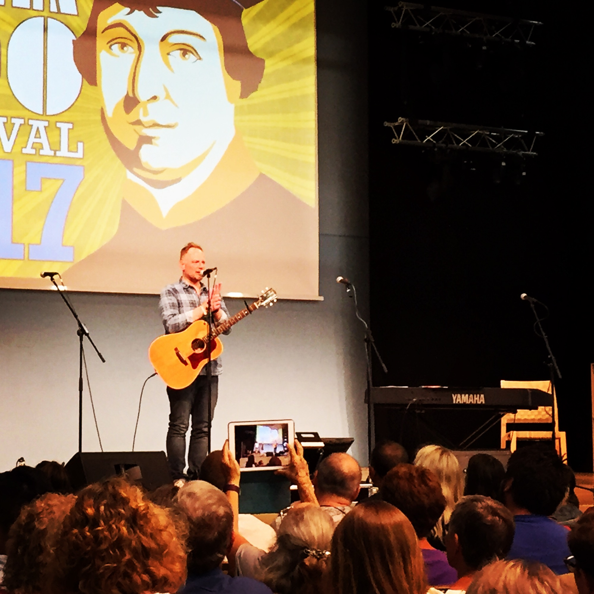 Whoa, I had a BLAST playing in Germany at the Luther500 Festival in June! Danke Schön to all!