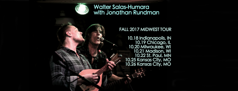 Such a pleasure to tour the Midwest this month with  Walter Salas-Humara  of The Silos!