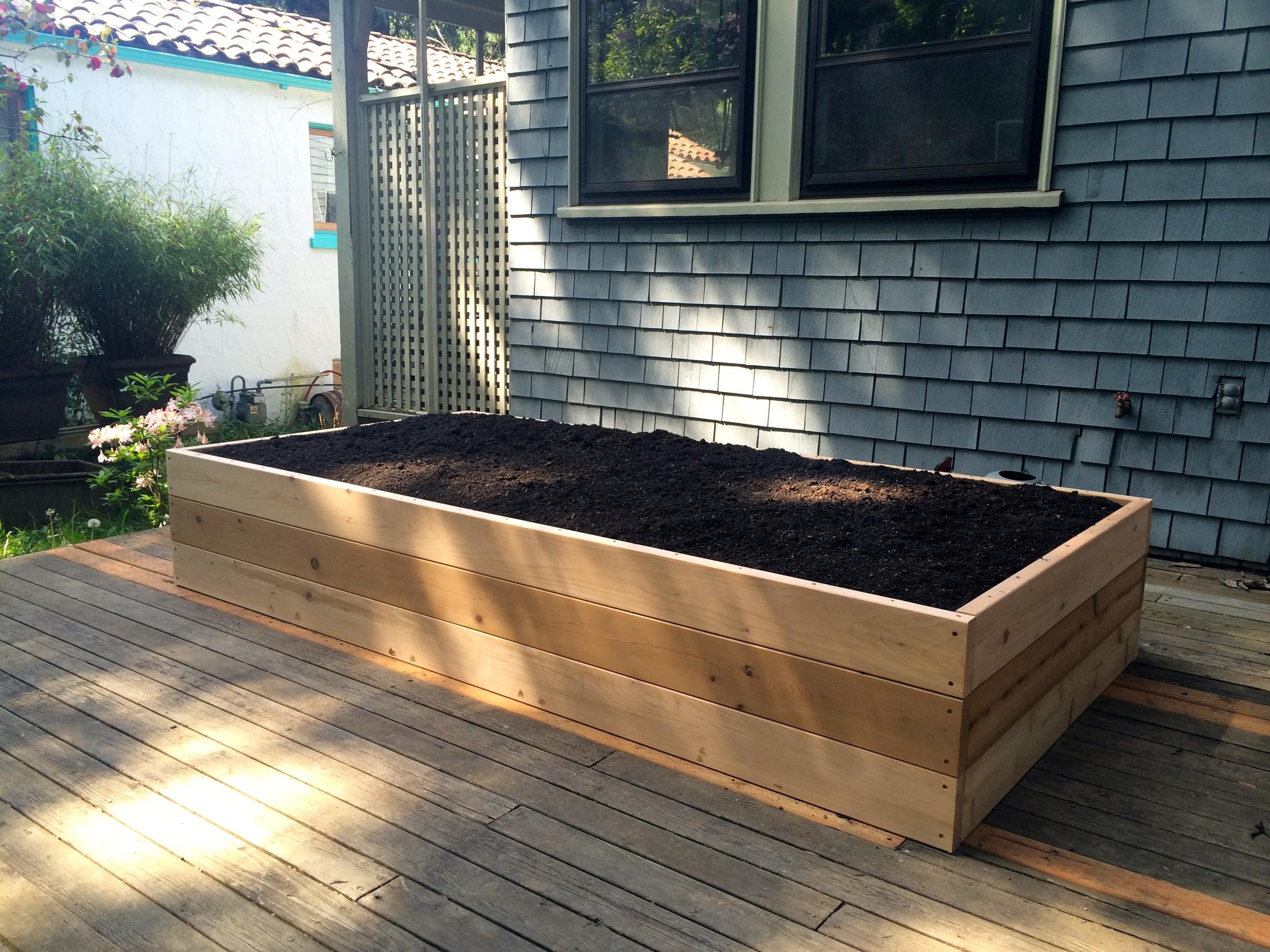 "18"" Cedar Raised Garden Bed #2"