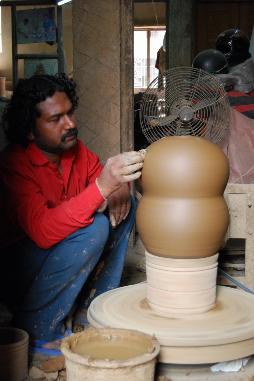 Bhuvnesh Prasad making a stack element