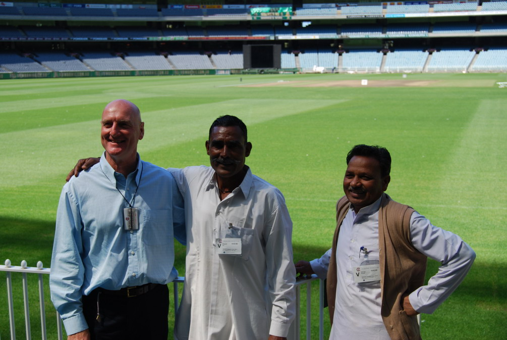 Scott Emerson, ML and GRP at the MCG