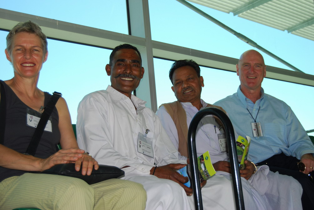 Myself,ML,GRP and Scott Emerson at the MCG