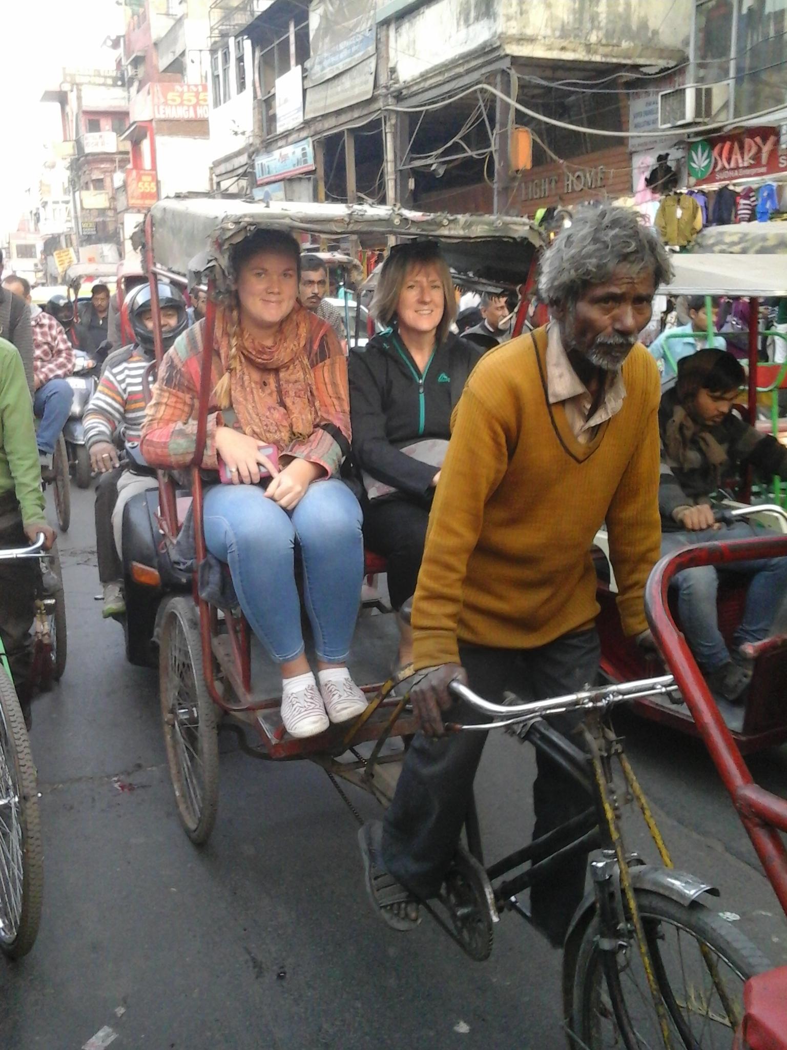 Rickshaw Old Delhi