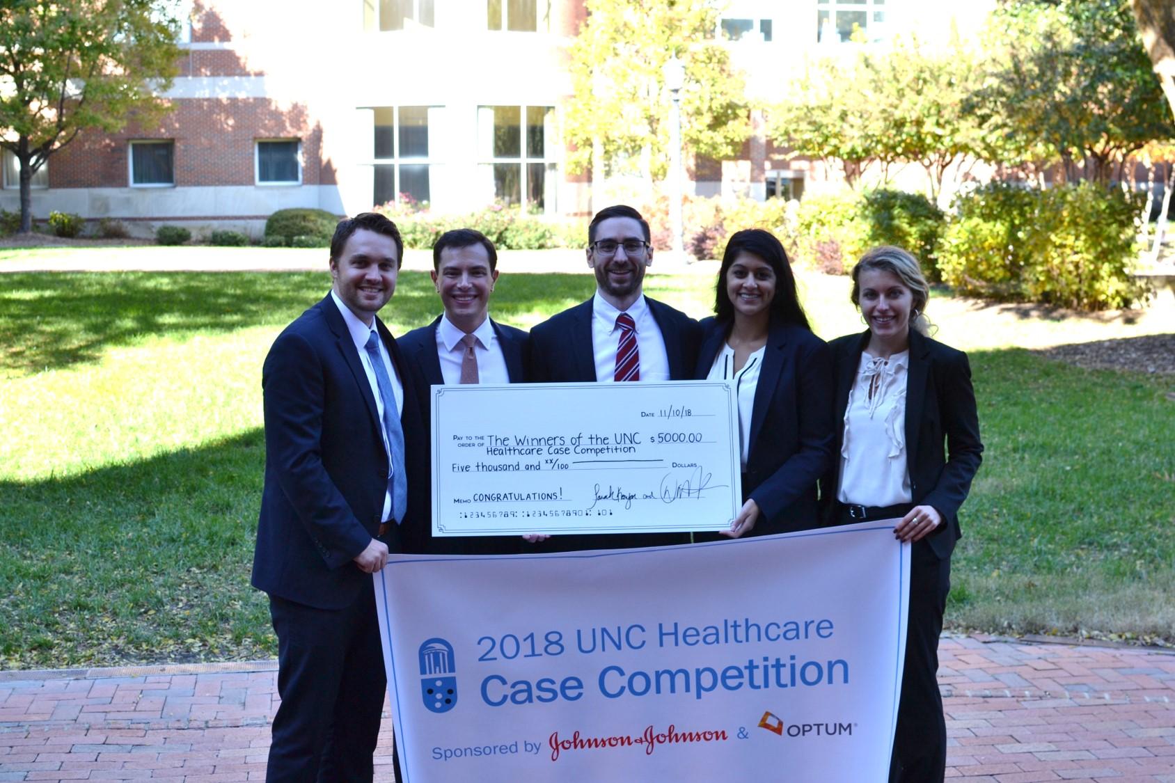 1st Place: UNC Team