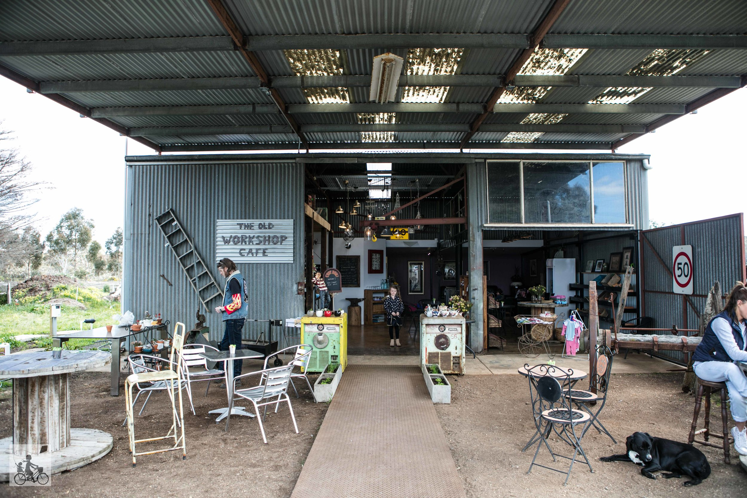 the old workshop cafe - mamma knows west