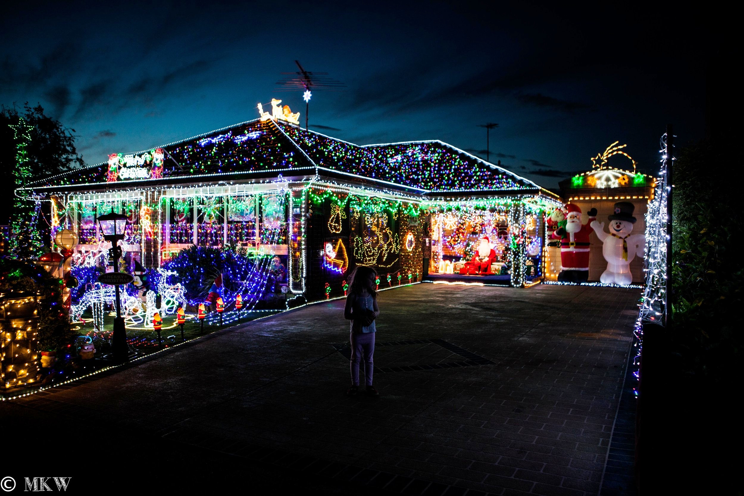 christmas lights in the west 2019