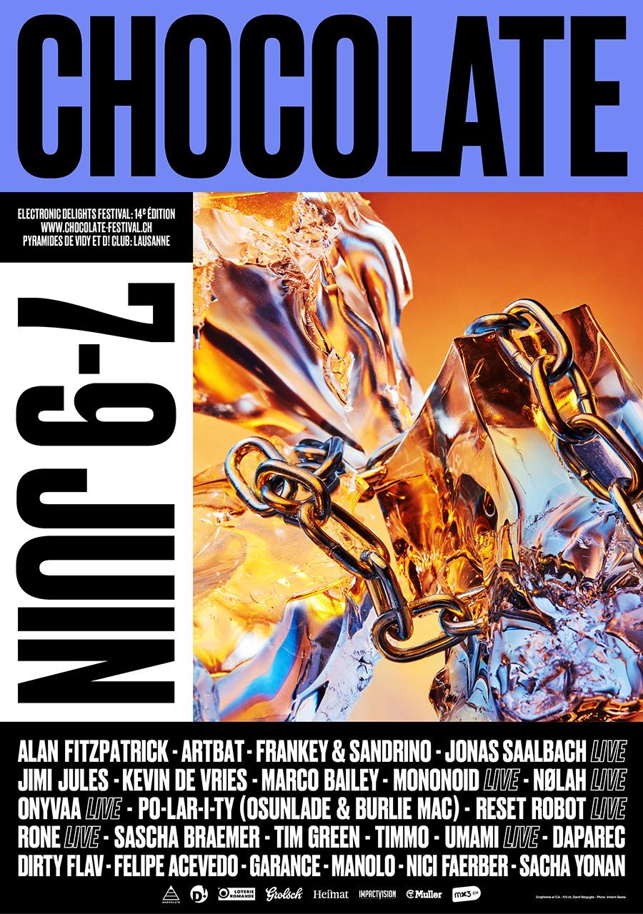 CHOCOLATE 2019 - 7-9 juinAlan Fitzpatrick (UK), Rone - Live! (FR), Sascha Braemer (DE),