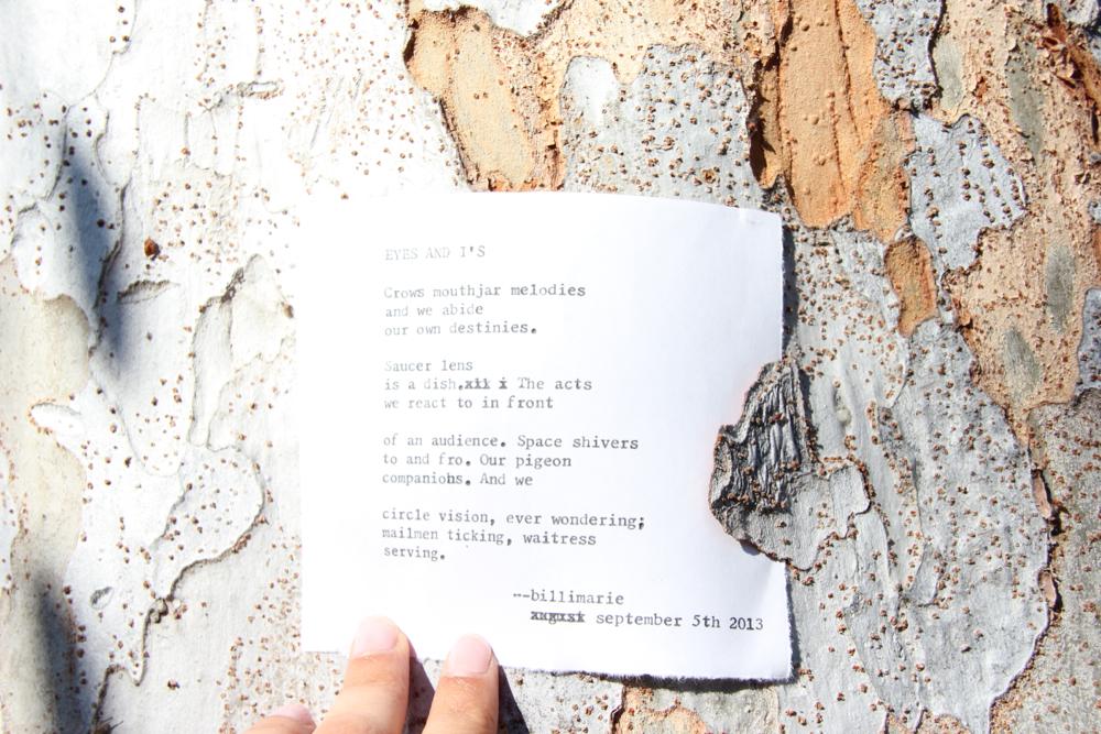 Poem by Billimarie.