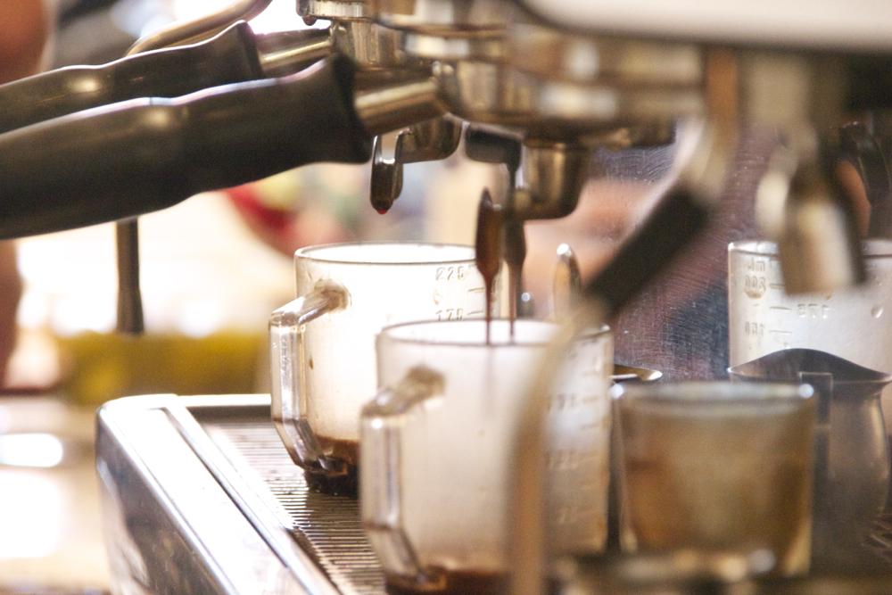 Espresso, Klatch Coffee, San Dimas.