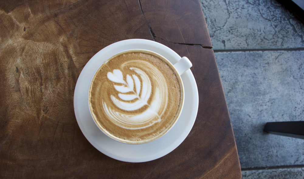 Cappuccino, Klatch Coffee, San Dimas.