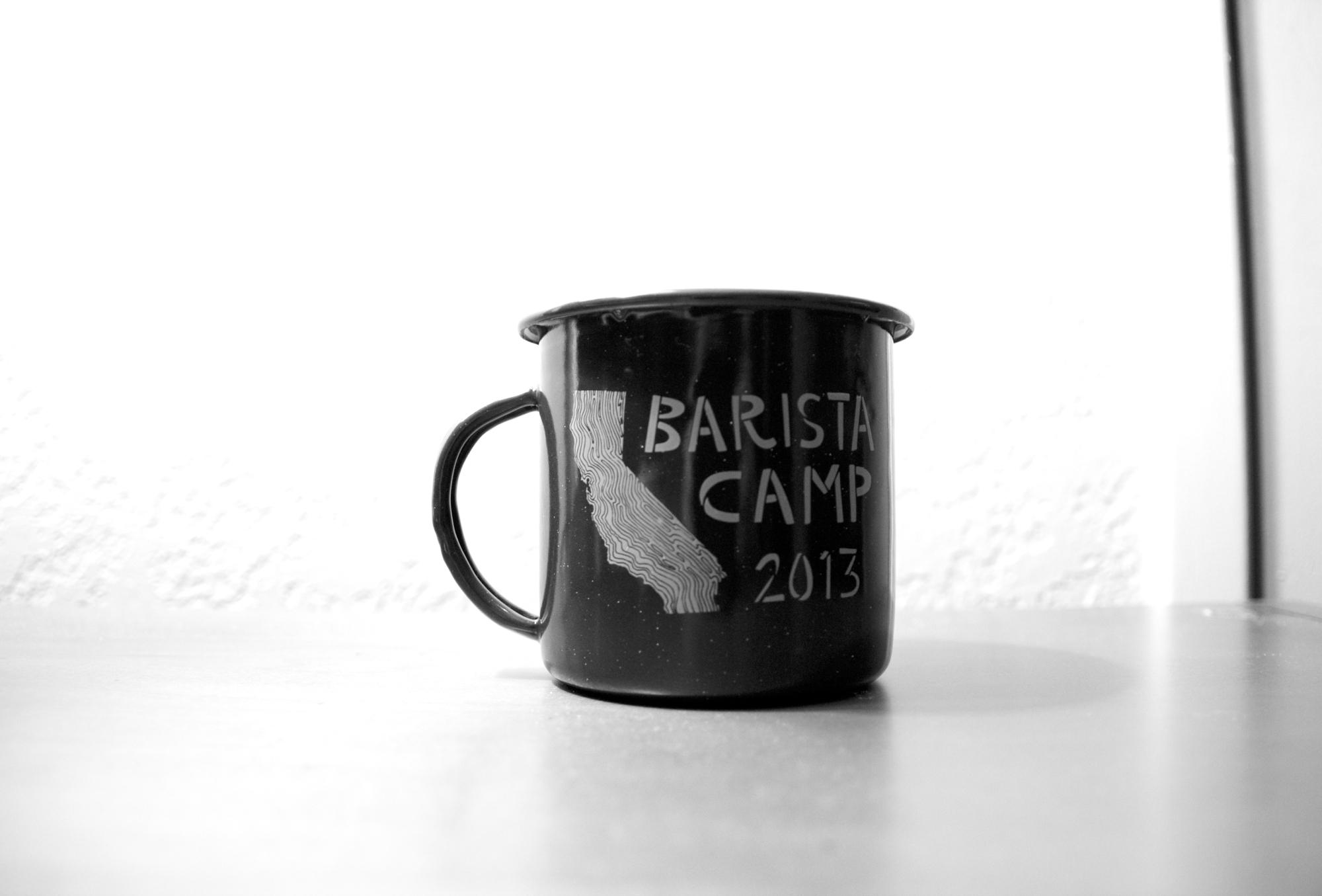 Verve Coffee Roasters swag, Barista Camp 2013.