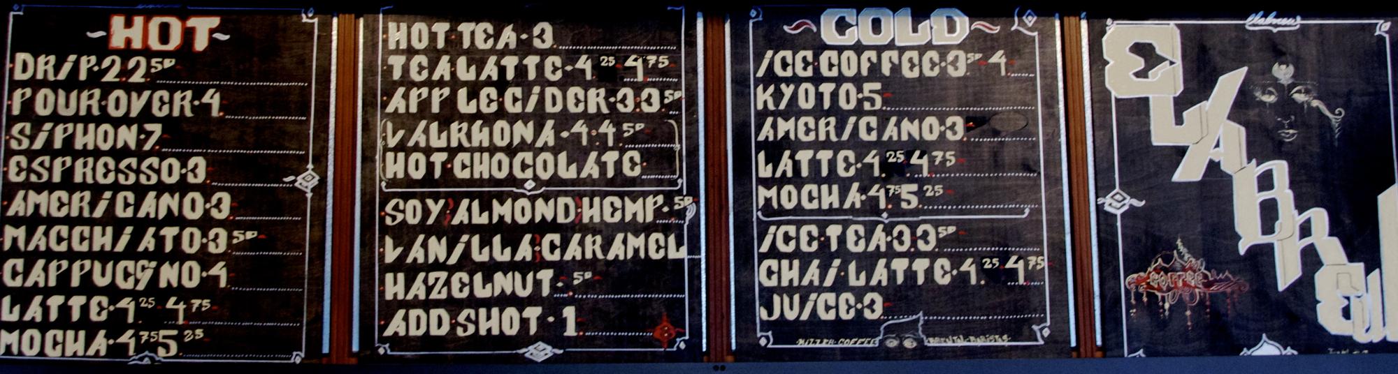 Typography by Joreal Elliott, Elabrew.