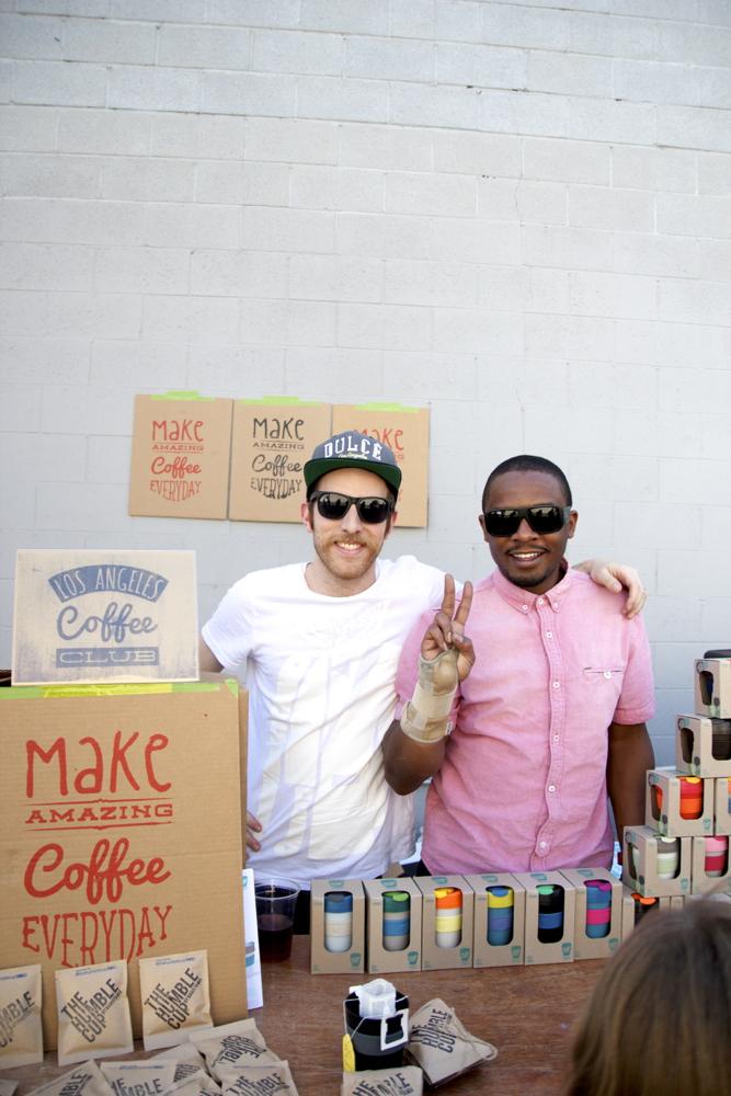 Adam and Antone of the  LA Coffee Club