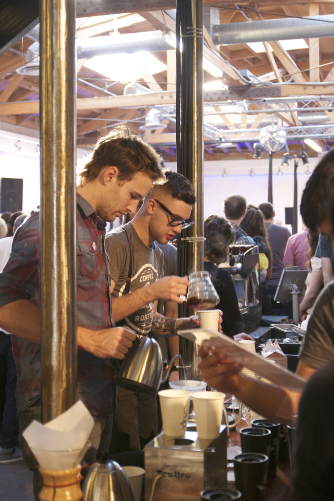 Brewing with  Lift Coffee Roasters